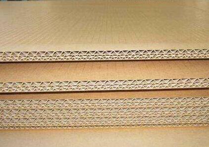 瓦楞纸板的楞型